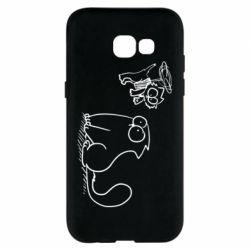 Чохол для Samsung A5 2017 Два кота
