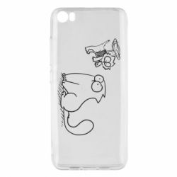 Чохол для Xiaomi Mi5/Mi5 Pro Два кота