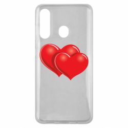 Чехол для Samsung M40 Два сердца
