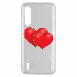 Чехол для Xiaomi Mi9 Lite Два сердца
