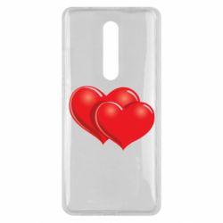 Чехол для Xiaomi Mi9T Два сердца