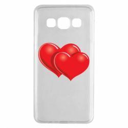 Чехол для Samsung A3 2015 Два сердца