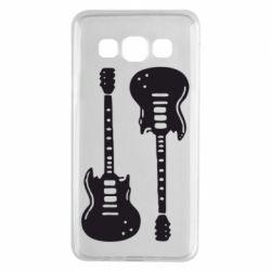 Чохол для Samsung A3 2015 Дві гітари