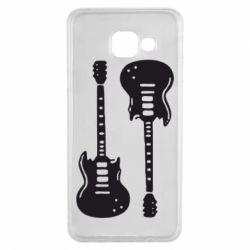 Чохол для Samsung A3 2016 Дві гітари