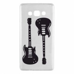 Чохол для Samsung A7 2015 Дві гітари