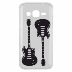 Чохол для Samsung J2 2015 Дві гітари
