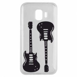 Чохол для Samsung J2 2018 Дві гітари