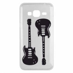 Чохол для Samsung J3 2016 Дві гітари