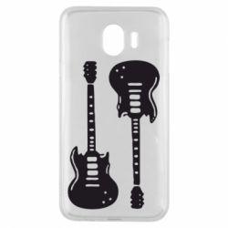 Чохол для Samsung J4 Дві гітари