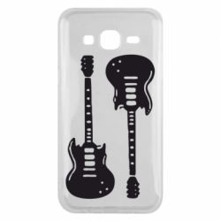 Чохол для Samsung J5 2015 Дві гітари