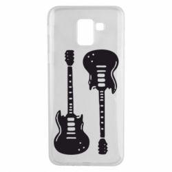 Чохол для Samsung J6 Дві гітари