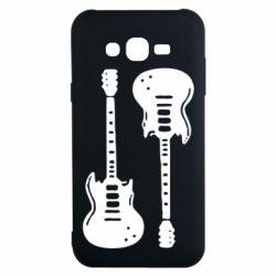 Чохол для Samsung J7 2015 Дві гітари