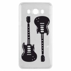 Чохол для Samsung J7 2016 Дві гітари