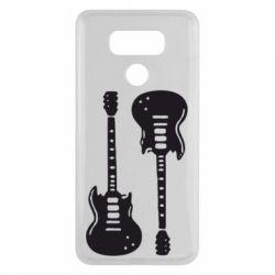 Чехол для LG G6 Две гитары - FatLine