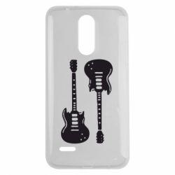 Чехол для LG K7 2017 Две гитары - FatLine