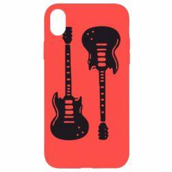 Чохол для iPhone XR Дві гітари