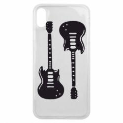 Чохол для iPhone Xs Max Дві гітари