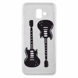 Чохол для Samsung J6 Plus 2018 Дві гітари