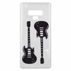 Чохол для Samsung Note 9 Дві гітари