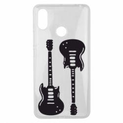 Чехол для Xiaomi Mi Max 3 Две гитары - FatLine
