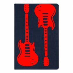 Блокнот А5 Дві гітари
