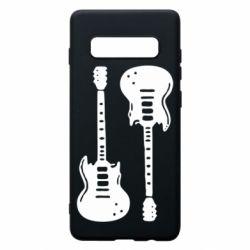 Чохол для Samsung S10+ Дві гітари