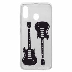 Чохол для Samsung A20 Дві гітари