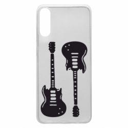Чохол для Samsung A70 Дві гітари