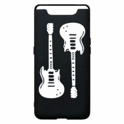 Чохол для Samsung A80 Дві гітари
