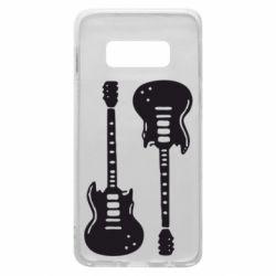 Чохол для Samsung S10e Дві гітари