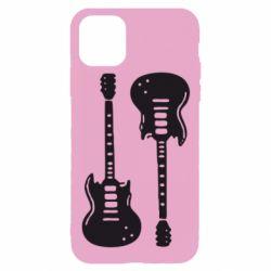 Чохол для iPhone 11 Pro Дві гітари