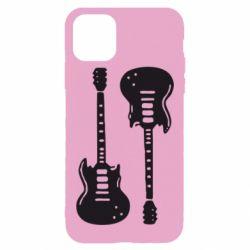 Чохол для iPhone 11 Pro Max Дві гітари