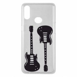 Чохол для Samsung A10s Дві гітари