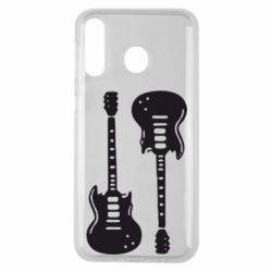 Чохол для Samsung M30 Дві гітари