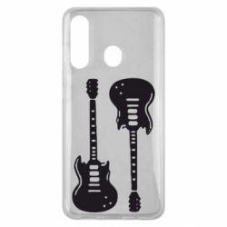 Чохол для Samsung M40 Дві гітари