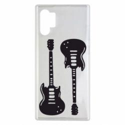 Чохол для Samsung Note 10 Plus Дві гітари