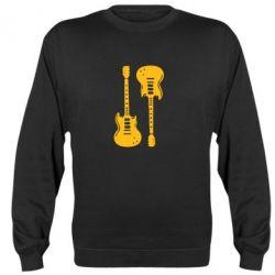 Реглан (свитшот) Две гитары - FatLine