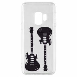 Чохол для Samsung S9 Дві гітари