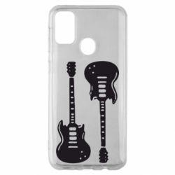 Чохол для Samsung M30s Дві гітари