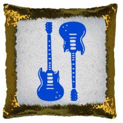 Подушка-хамелеон Дві гітари