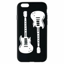 Чохол для iPhone 6/6S Дві гітари