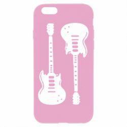 Чохол для iPhone 6 Plus/6S Plus Дві гітари