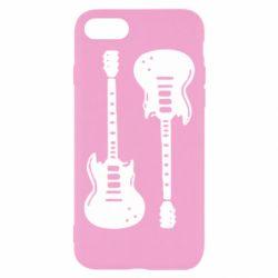 Чохол для iPhone 7 Дві гітари