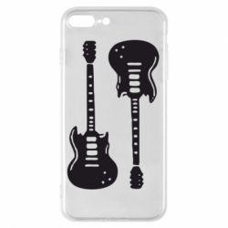 Чохол для iPhone 7 Plus Дві гітари