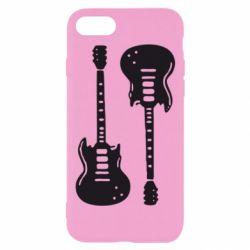 Чохол для iPhone 8 Дві гітари