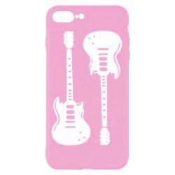 Чохол для iPhone 8 Plus Дві гітари