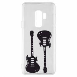 Чохол для Samsung S9+ Дві гітари