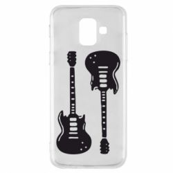 Чохол для Samsung A6 2018 Дві гітари