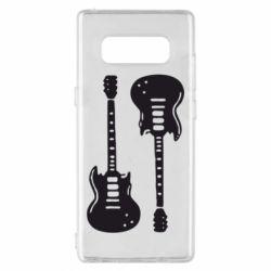 Чохол для Samsung Note 8 Дві гітари
