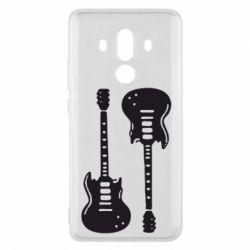 Чехол для Huawei Mate 10 Pro Две гитары - FatLine